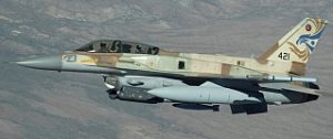 Israeli F16 Fighter Image: Sergeant K. J. Gruenwald, License: Creative Commons via Wikimedia Commons