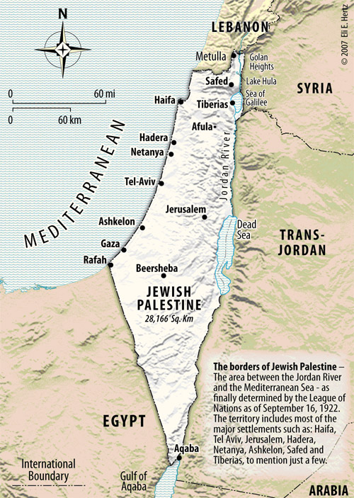 Israels Legal Borders under International Law Facts about Israel