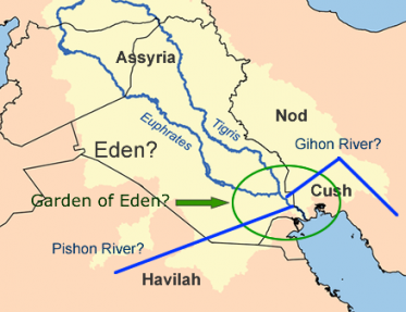 The mysterious israel eden connection the land of israel reflects eden River flowing from the garden of eden