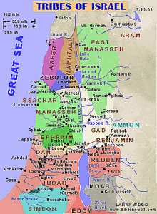 borders of Israel