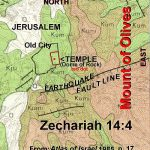 Mt Olives fault line